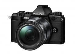 Фотоапарат Olympus OM-D E-M5 Mark II Black тяло + Обектив Olympus M.Zuiko Digital ED 14-150mm f/4-5.6 II Black