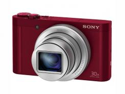 Фотоапарат Sony Cyber-Shot DSC-WX500 Red